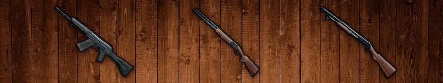 این تصویر دارای صفت خالی alt است؛ نام پروندهٔ آن Shotguns-Wood.png است