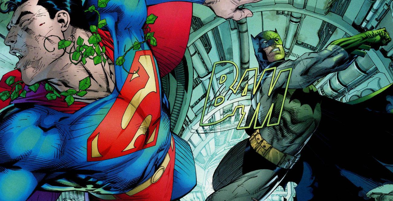 درگیری بتمن و سوپرمن