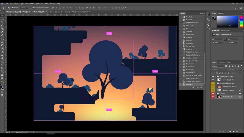 ابزار فتوشاپ برای گیم دیزاین