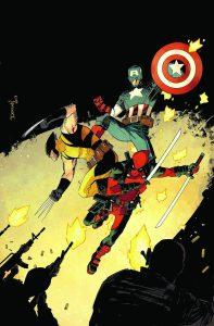 شمارهی 15 سری سوم کمیکهای Deadpool با حضور کاپیتان آمریکا و ولورین