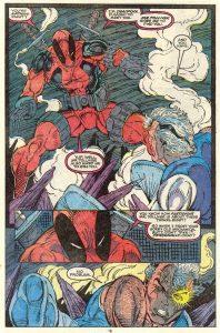 حضور ددپول در شمارهی 98 کمیکهای The New Mutants