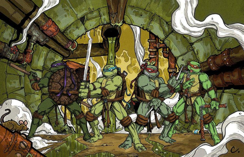 کمیک بوکهای لاکپشتهای نینجا از انتشارات IDW