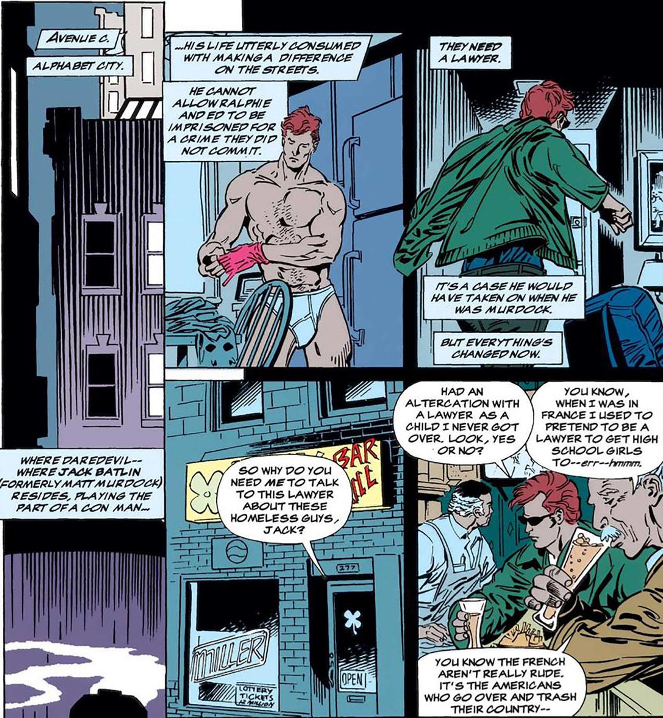 شمارهی 334 از کمیک بوکهای DAREDEVIL (ماه نوامبر سال 1994)