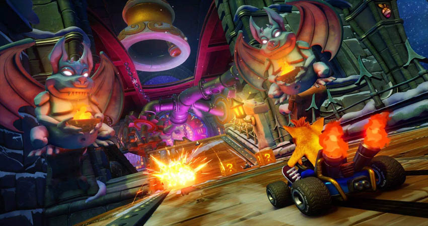 بازی Crash Team Racing Nitro-Fueled