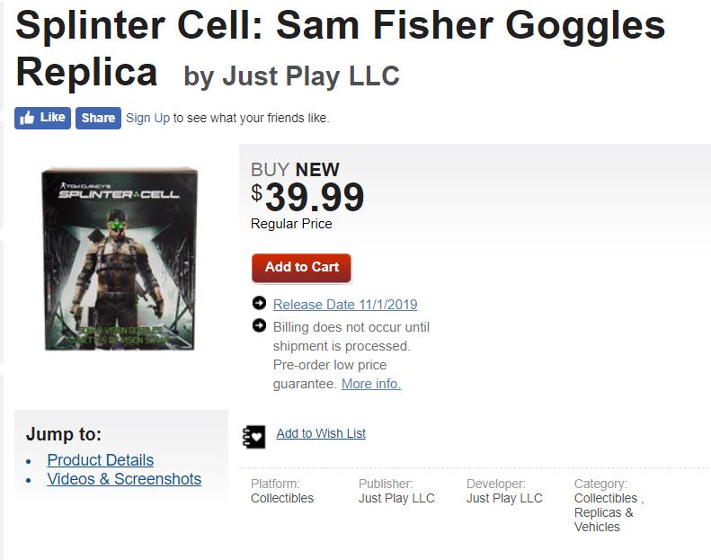 سری Splinter Cell