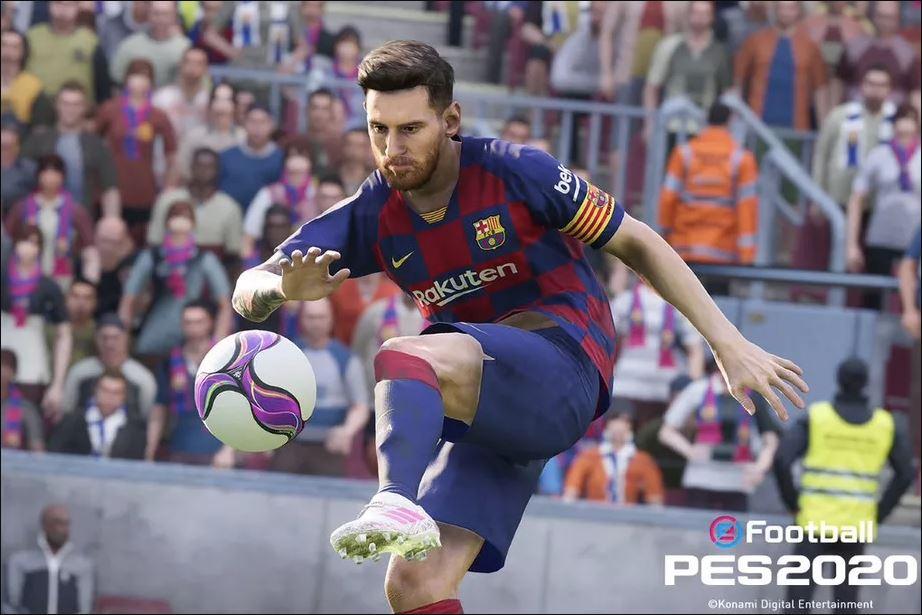 اولین تریلر از بازی PES 2020 منتشر شد