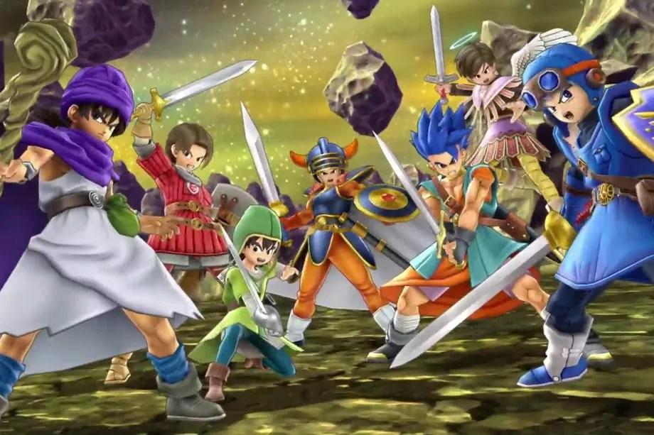 پای کاراکترهای دراگون کوئست هم به Super Smash Bros. Ultimate باز شد