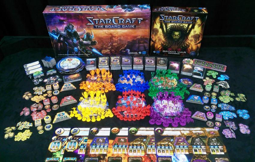 بازی رومیزی Starcraft