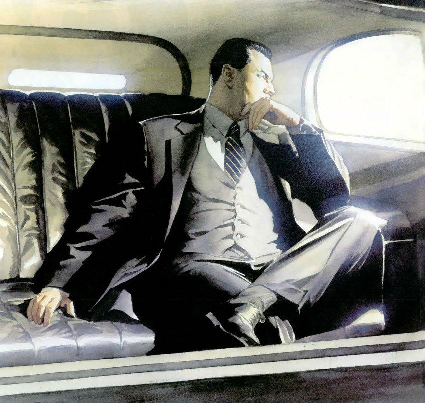 بروس وین هویت میلیارد خودش را هم حفظ کرده است - طراحی الکس راس