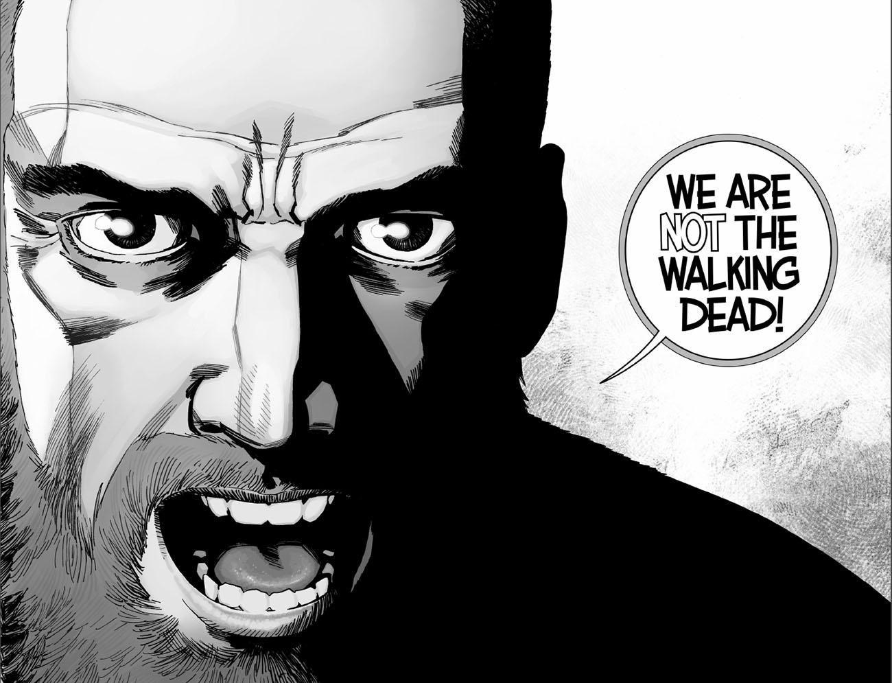 «ما مردهی متحرک نیستیم!» - حرفهای ریک گرایمز در شمارههای اخیر کاملاً با حرفهای قبلیاش فرق دارند.