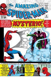 کاور شماره 1 از کمیک بوک The Amazing Spider-Man (برای دیدن سایز بزرگ روی تصویر کلیک کنید)
