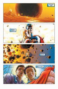صفحه 1 از شماره 1 کمیک بوک All-Star Superman (برای دیدن سایز کامل روی تصویر کلیک کنید)
