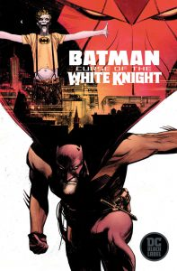 کاور کمیک بوک Batman: Curse of the White Knight
