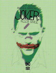 کاور کمیک بوک Joker: Killer Smile