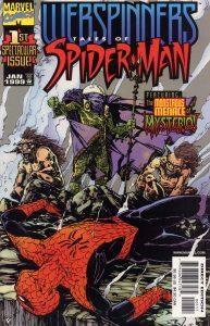 کاور شماره 1 از کمیک بوک Webspinners – Tales of Spider-Man (برای دیدن سایز بزرگ روی تصویر کلیک کنید)
