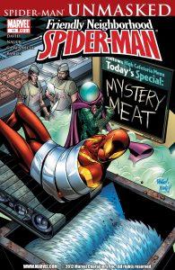 کاور شماره 11 از کمیک بوک Friendly Neighborhood Spider-Man (برای دیدن سایز بزرگ روی تصویر کلیک کنید)