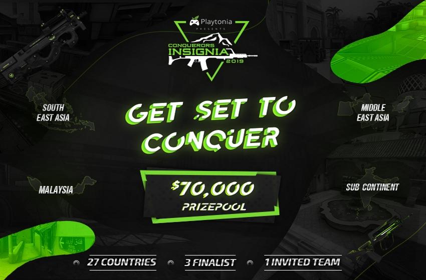 ثبتنام مسابقات Conquerors Insignia 2019 آغاز شد