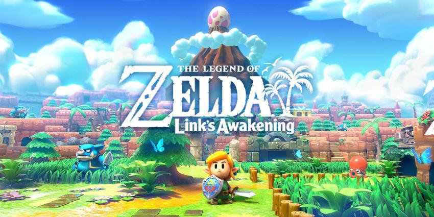پرفروشترینهای بریتانیا: قیام Zelda: Link's Awakening