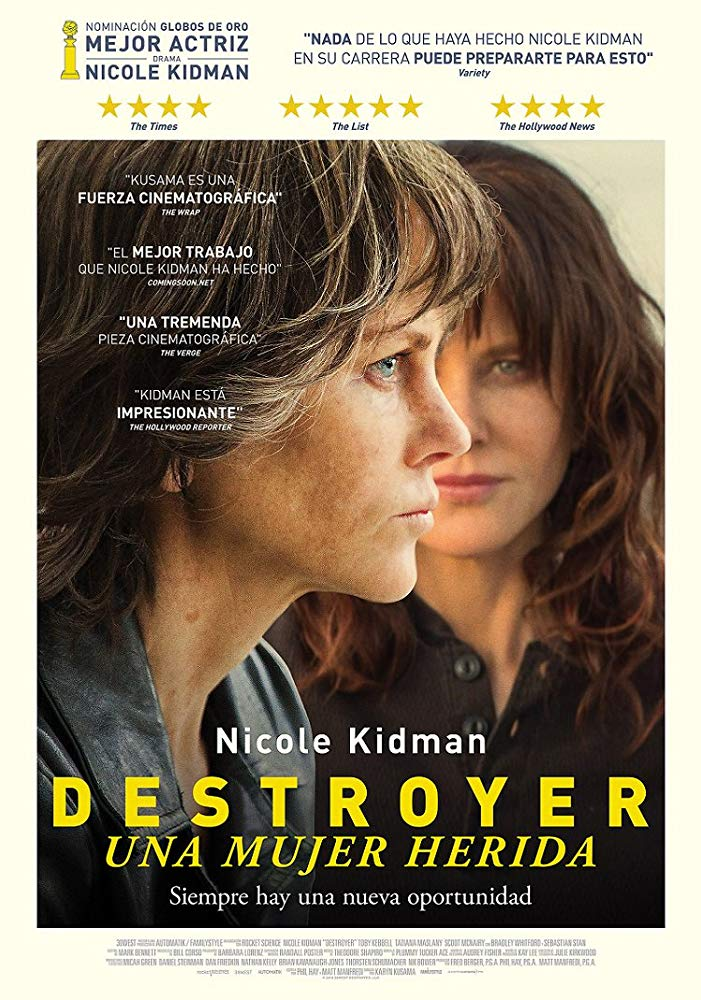 نقد فیلم Destroyer