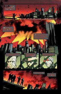 نمونهای از متنهای بدرنگ کمیک بوک The Batman Who Laughs(برای دیدن سایز کامل از کمیک بوک روی تصویر کلیک کنید)