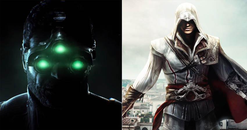 سری بازیهای Splinter Cell و Assassin's Creed احتمالاً به هدستهای آکیلس میآیند