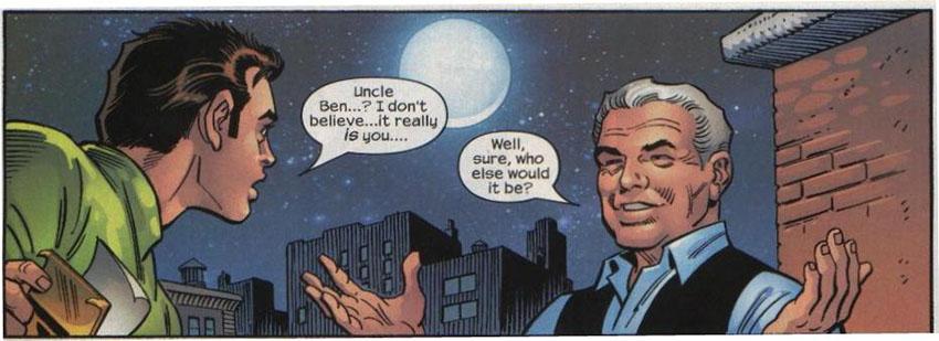 عمو بن، کسی که بیش از هر انسانی در زندگی پیتر پارکر تأثیر داشت.