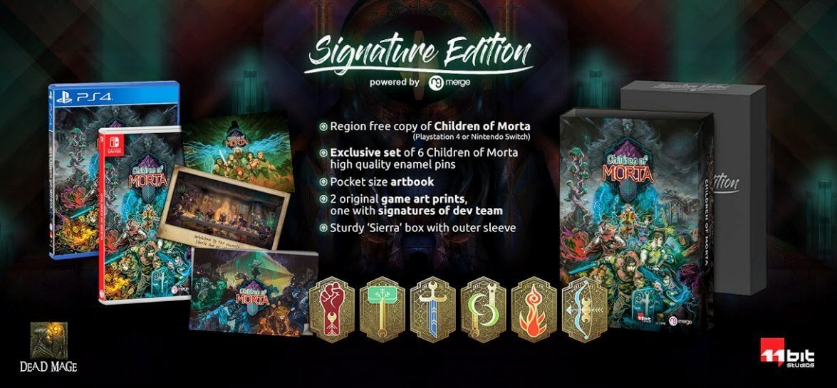 اگر نسخه Signature Edition بازی Children of Morta را میخواهید همین حالا اقدام کنید