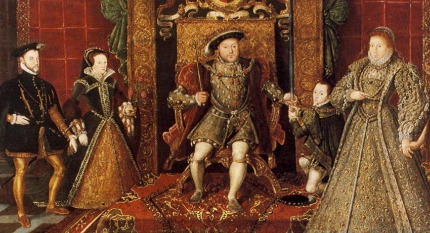 سلطنت خانواده تودور tudor انیمه