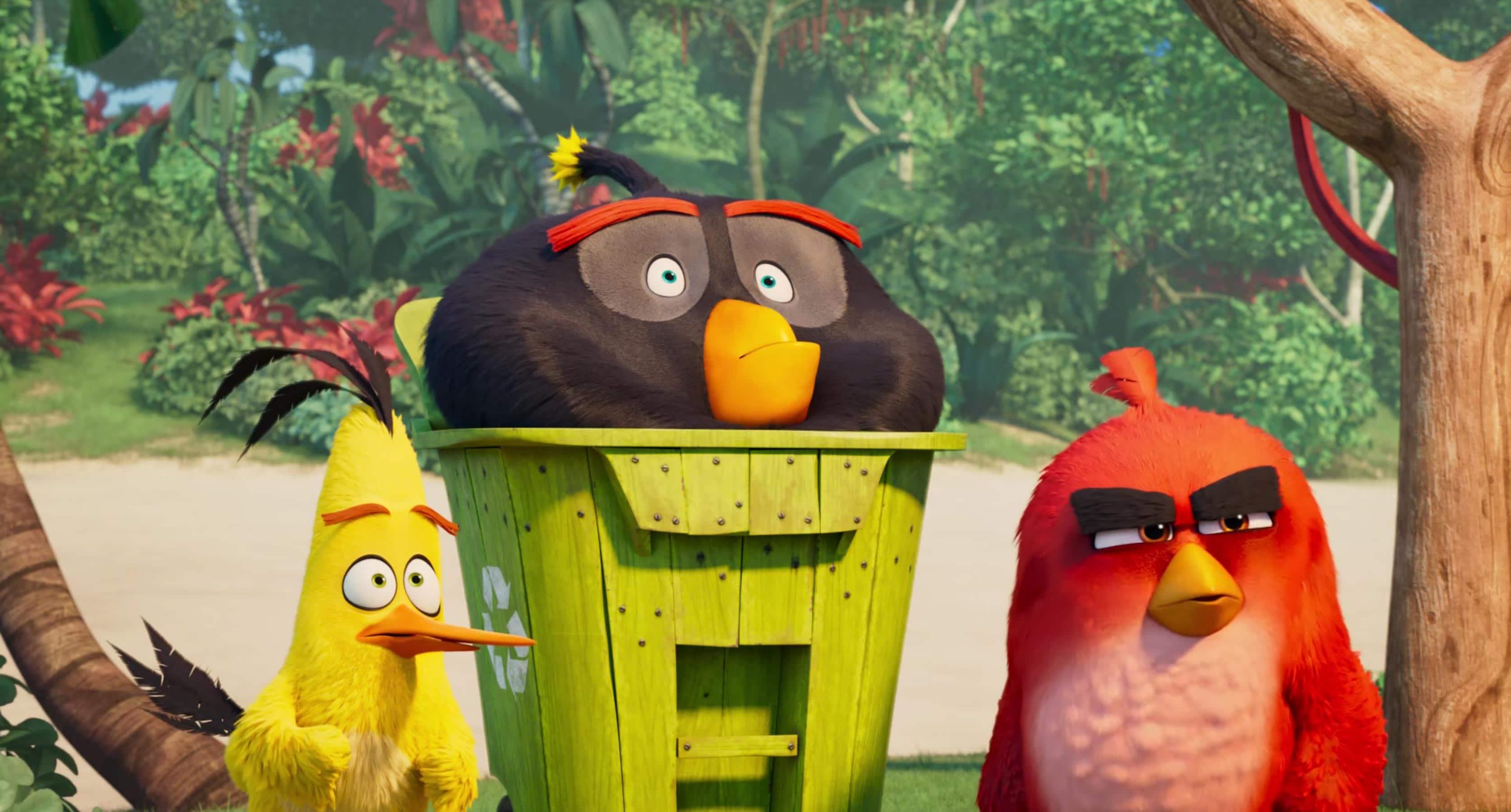 نقد انیمیشن ANGRY BIRDS 2