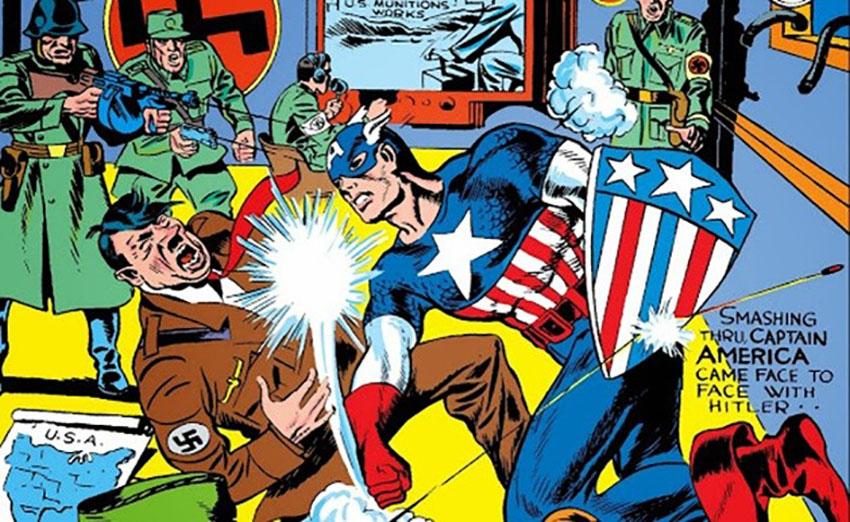 کاپیتان آمریکا نازیهای زیادی را ناکار کرده است.