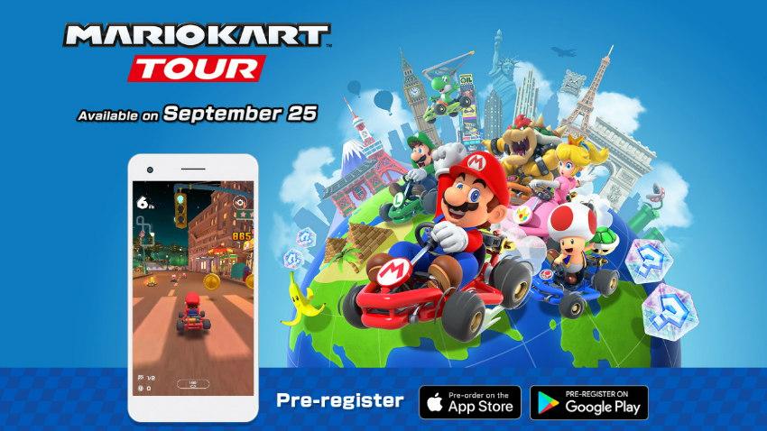 بازی Mario Kart Tour منتشر شد [دانلود کنید]