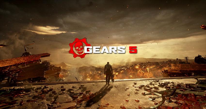 یکی از مراحل Gears 5 پنجاه برابر بزرگتر از مراحل نسخههای قبلی است