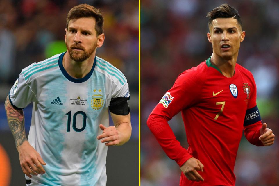 رونالدو و مسی در صدر لیست قویترین بازیکنان فیفا 20
