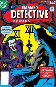 کاور شماره 475 کمیکهای Detective Comics