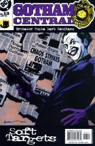 کاور شماره 13 از کمیکهای Gotham Central