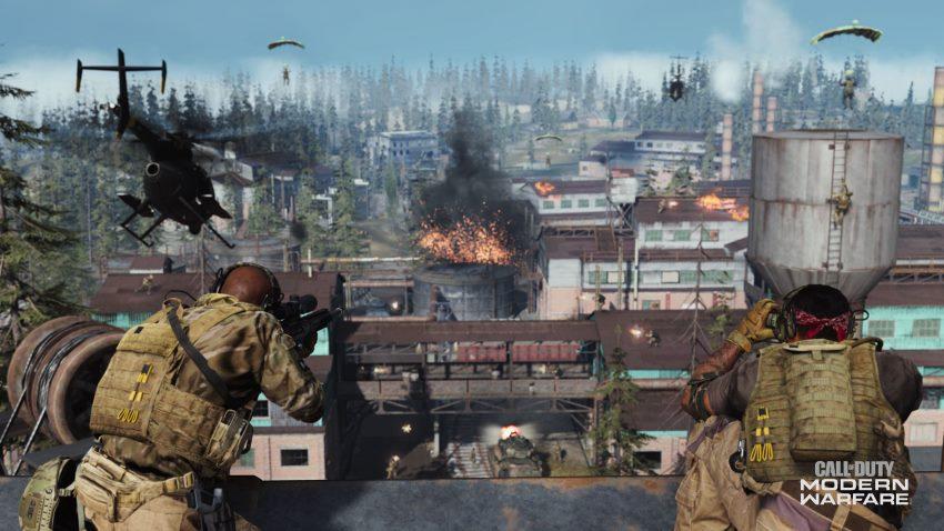 بخش چند نفره Call of Duty: Modern Warfare