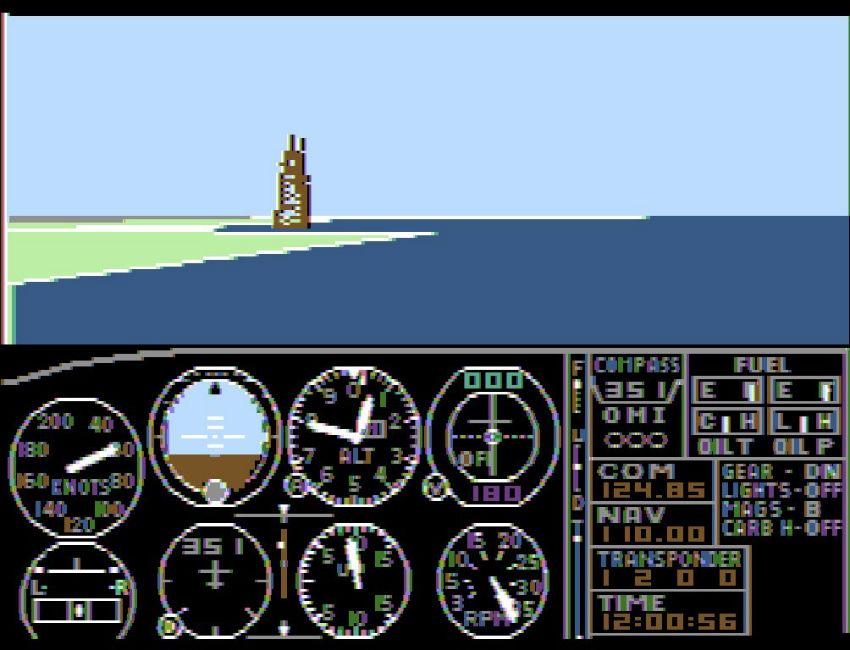 اولین نسخه Microsoft Flight Simulator