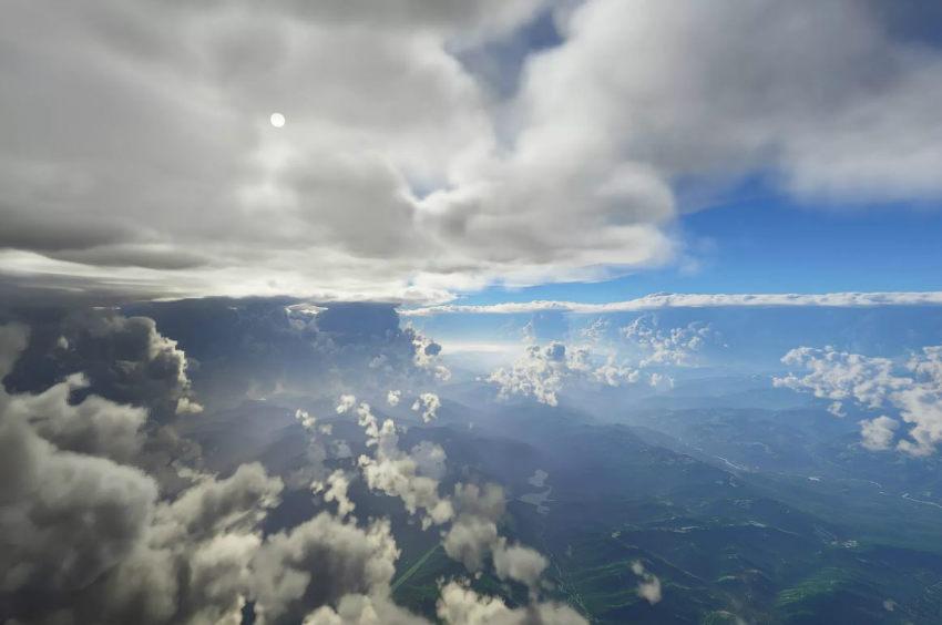 سیستم آب و هوایی در بازی Microsoft Flight Simulator
