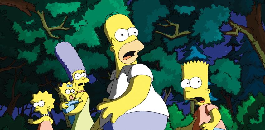 بارت سیمپسون مارج هومر لیسا مگی