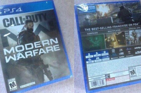 خرید دیسکهای لو رفته از Modern Warfare با قیمت ۲۵۰ دلار