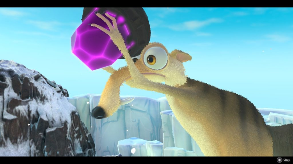 نقد بازی Ice Age: Scrat's Nutty Adventure