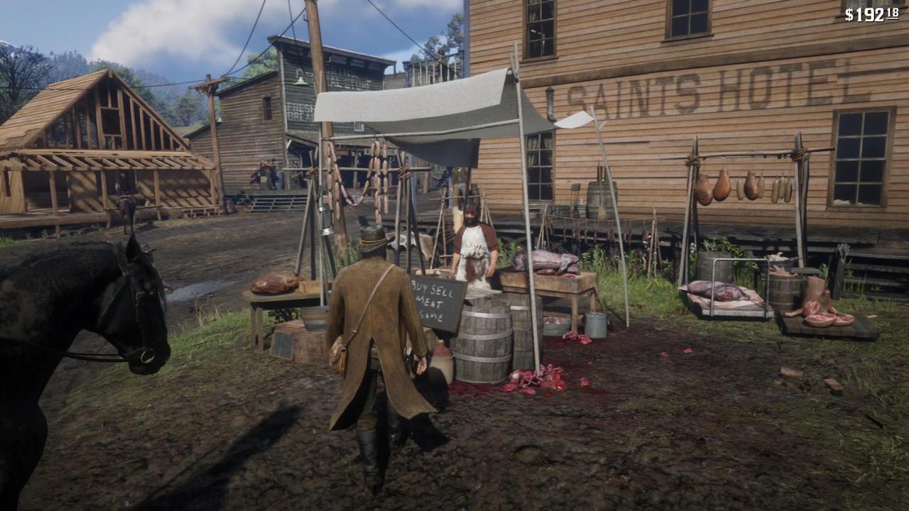 پول درآوردن در Red Dead Redemption 2