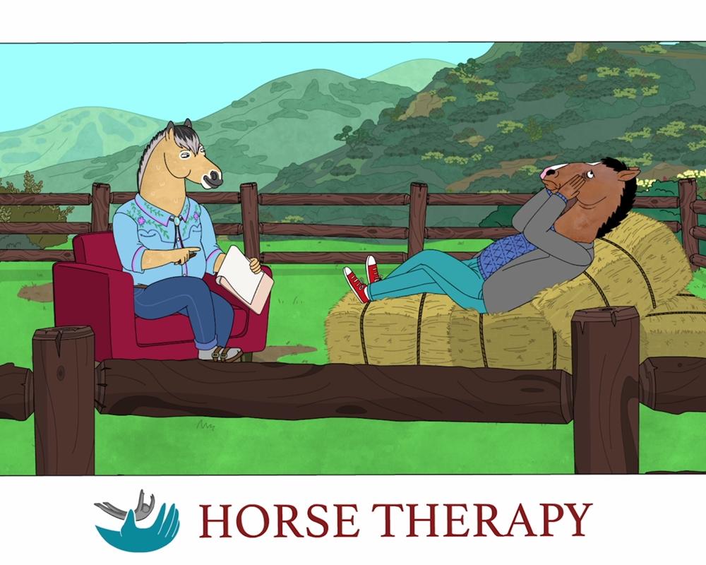 اسب تراپی فصل ششم بوجک هورسمن