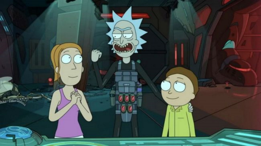 ریک و مورتی قسمت اول فصل سه