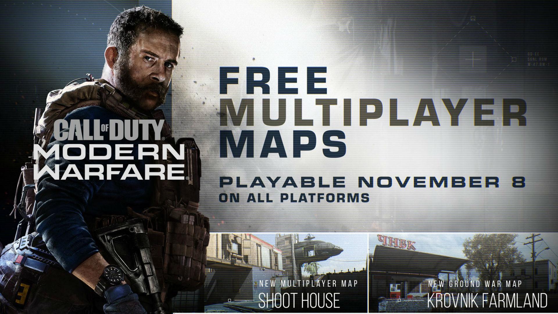 آپدیت جدید Modern Warfare با دو نقشه و یک حالت بازی تازه از راه رسید