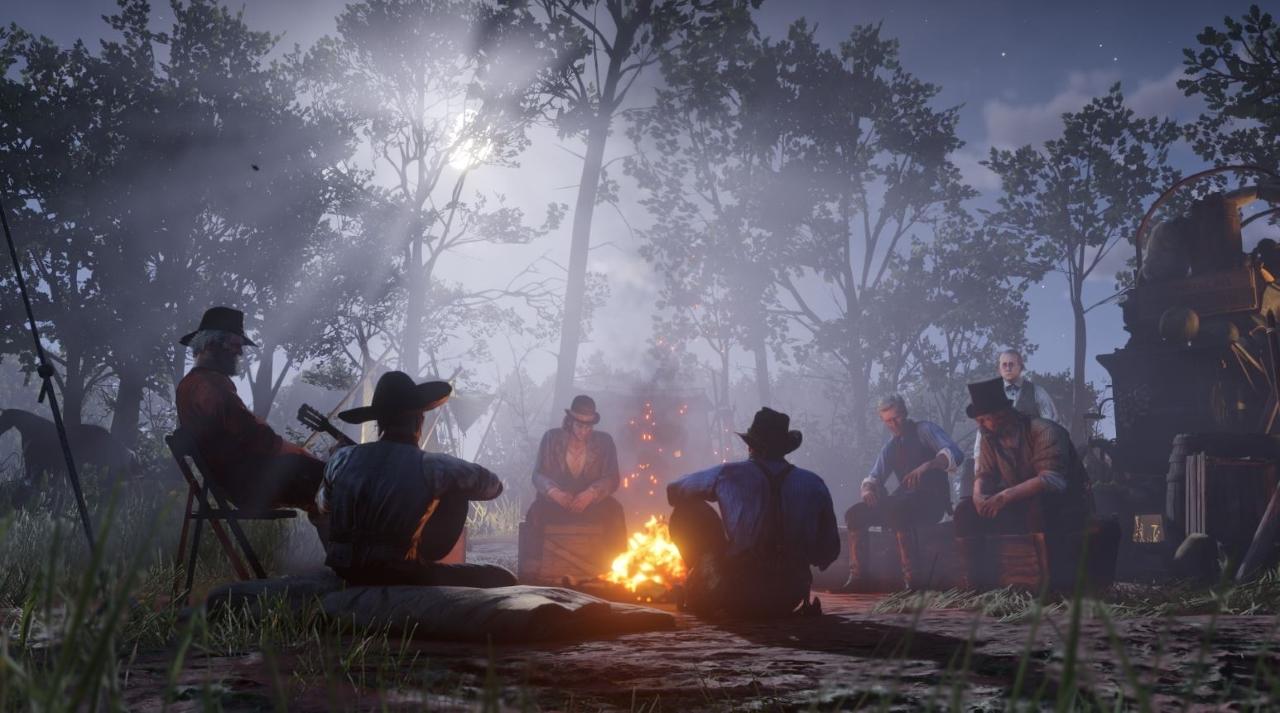 ارتقا کمپ در Red Dead Redemption 2