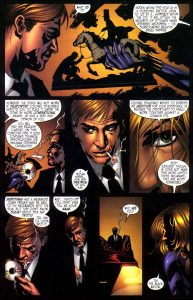 یلنا بلووا در شماره ۵ کمیک Inhumans (برای دیدن سایز کامل روی تصویر کلیک کنید)