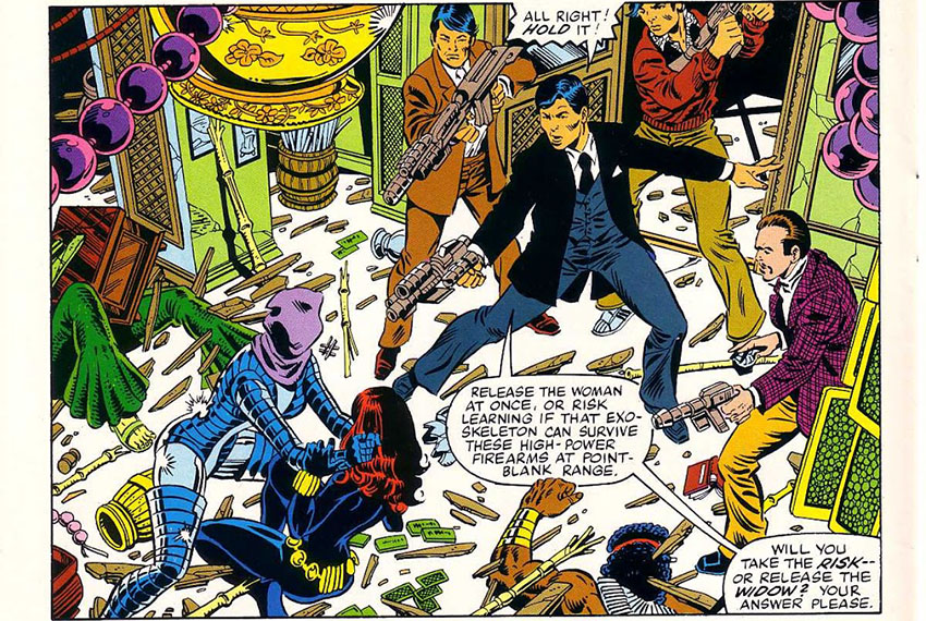نجات بلک ویدو به کمک مأمور جیمی وو