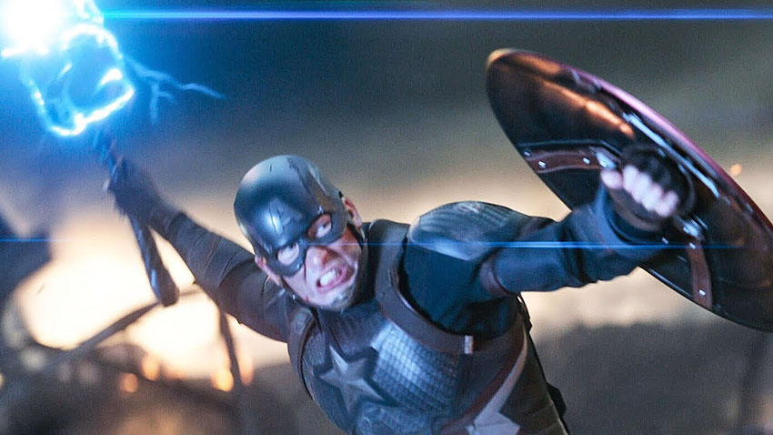 وقتی کاپیتان آمریکا در فیلم Avengers: Endgame کنترل میولنیر را به دست میگیرد