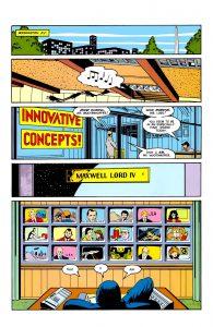 اولین حضور مکسول لرد در دنیای کمیکها (برای دیدن سایز کامل روی تصویر کلیک کنید)